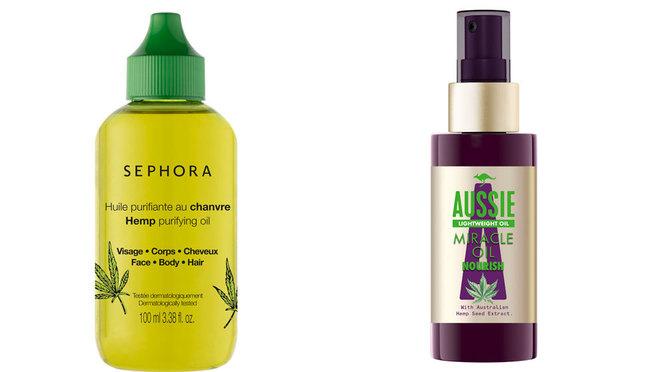 Aceites de Sephora (8,95 euros) y Aussie (5,99 euros) con el...