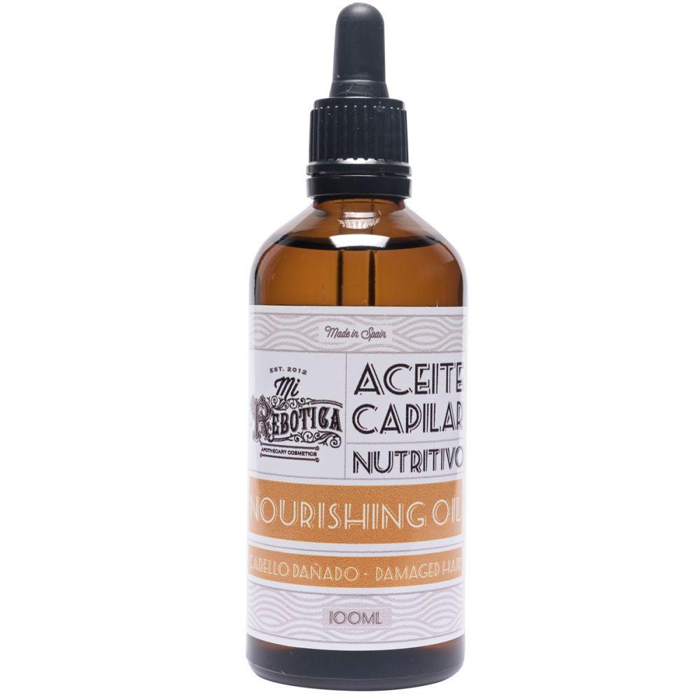 Aceite capilar nutritivo de La Rebotica.