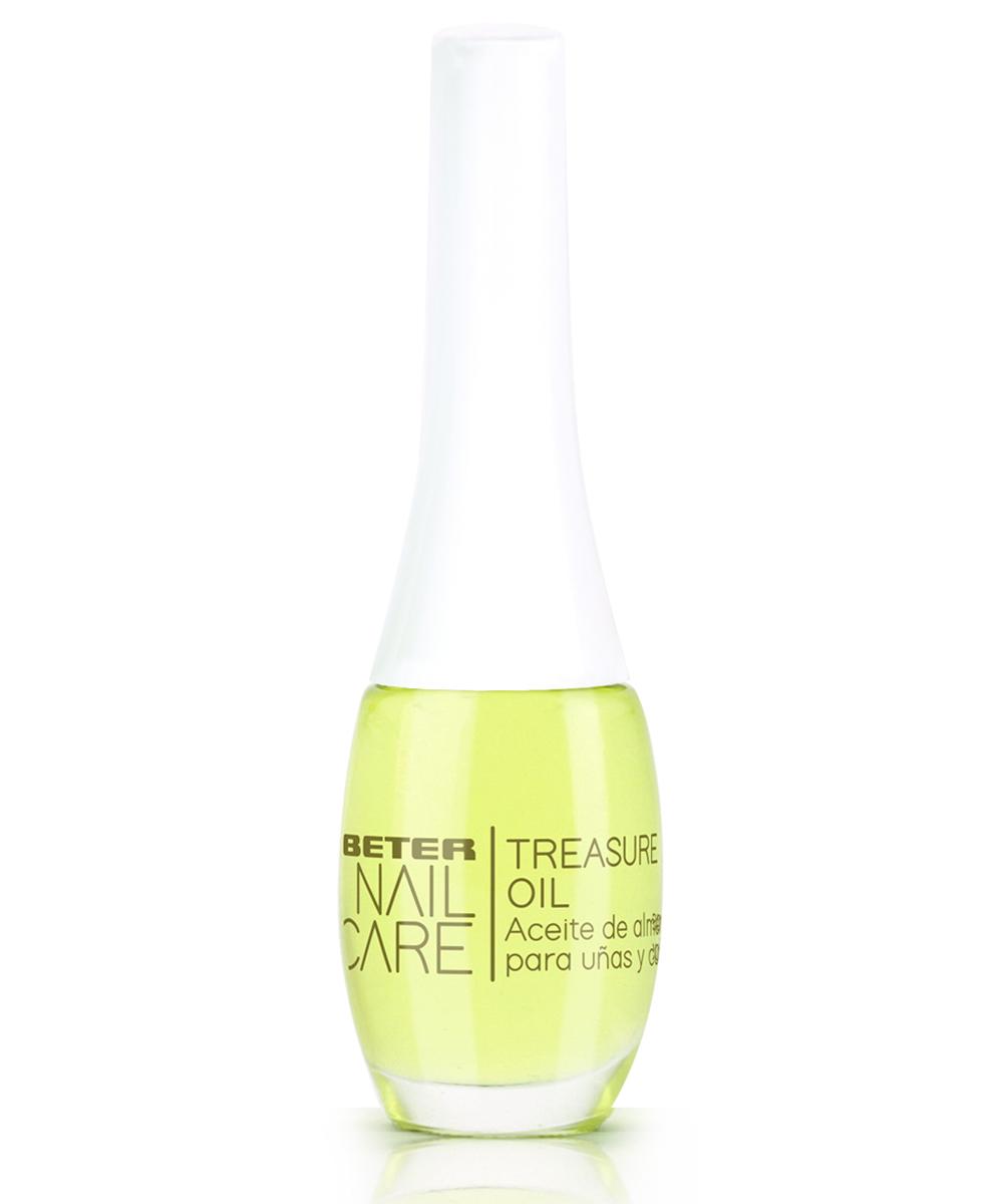 Aceite de almendras para uñas y cutículas Treasure Oil de Beter.