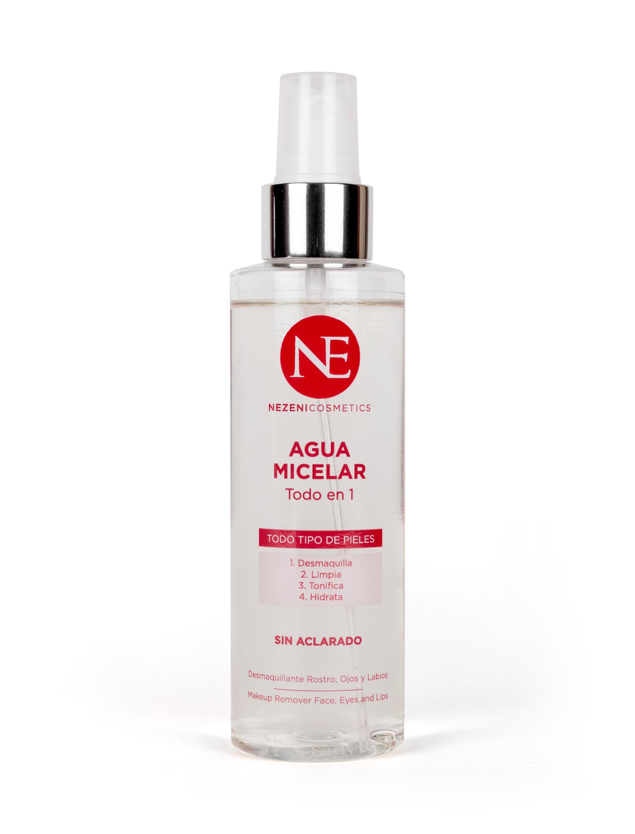 Agua micelar de Nezeni Cosmetics (19,90 euros)