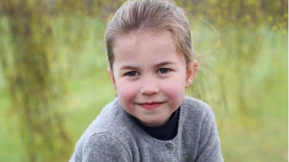 La princesa Charlotte fotografiada por su madre con motivo de su...