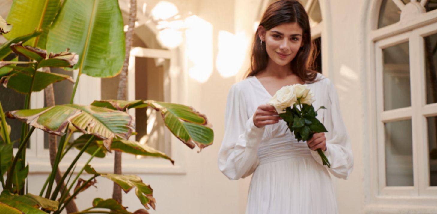 Vestido de novia de Kiabi (70 euros)