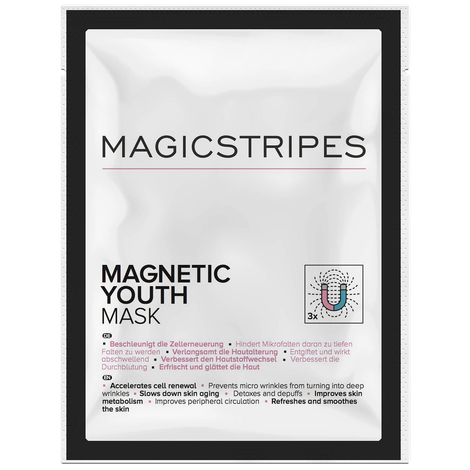 Mascarilla Magnetic Youth de Magicstripes