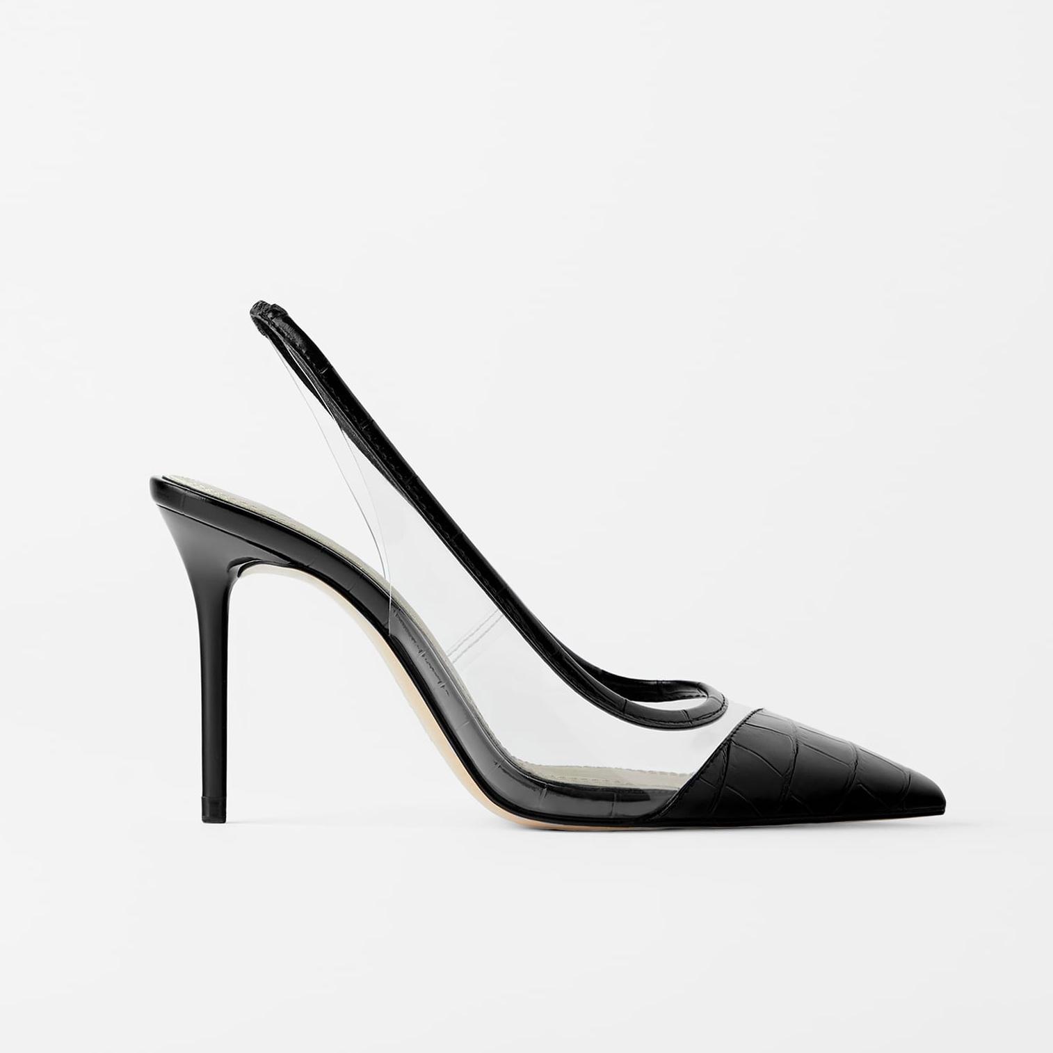 Zapatos de Zara.