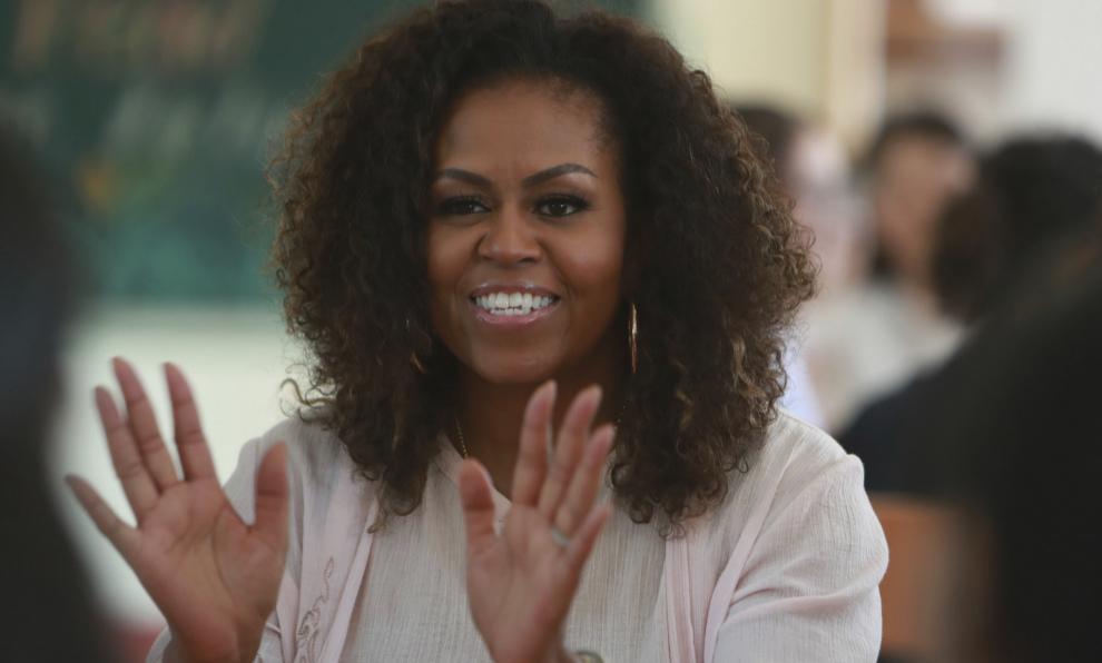 Michelle Obama crea el nuevo reto viral en Instagram, #PromChallenge