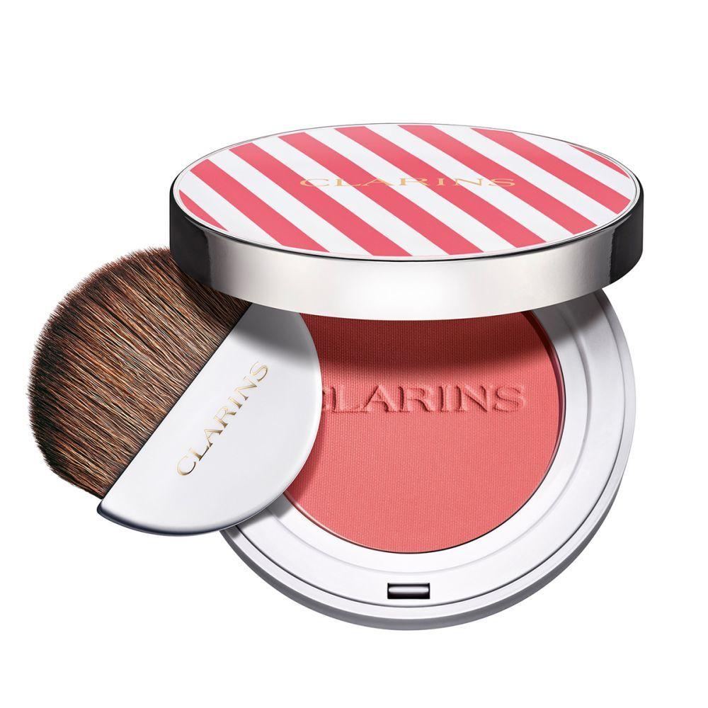 Joli Blush Cheeky Pinky de Clarins (40 euros), un colorete para acentuar el color de tus mejillas.