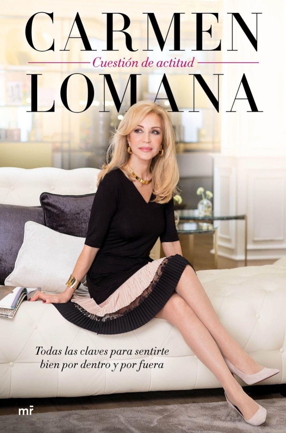 Portada del nuevo libro de Carmen Lomana.