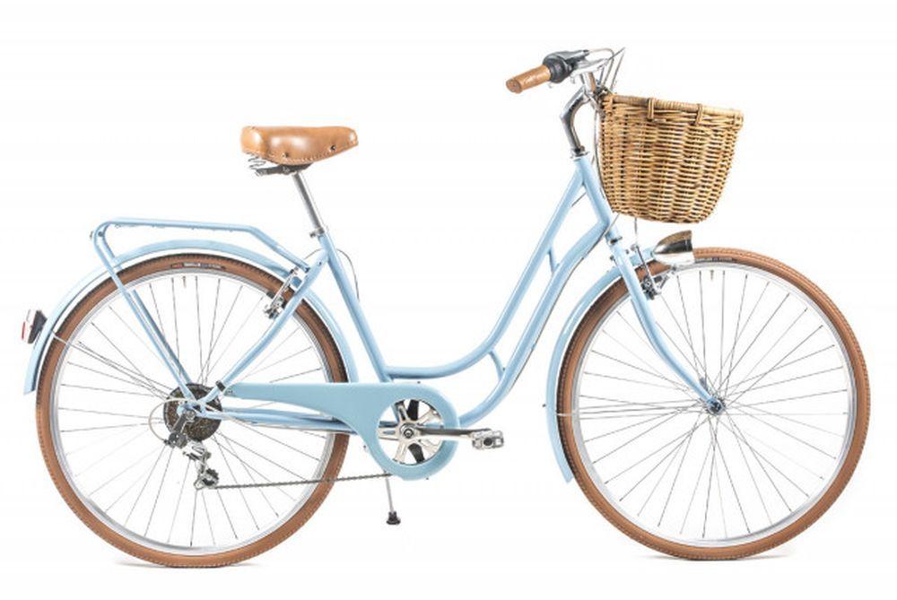 Bicicleta clásica para ir de picnic.