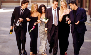 DAVID SWIMMER, JENNIFER ANISTON , COURTNEY COX , MATTHEW PERRY , LISA...