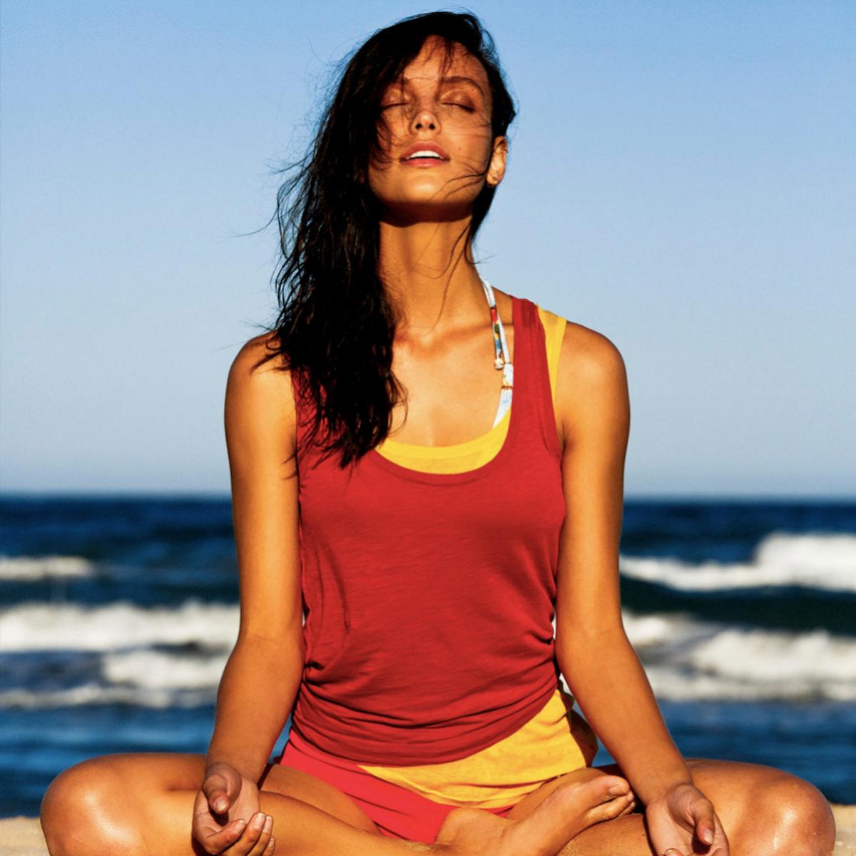 Hay técnicas de respiración que también inducen a la relajación.