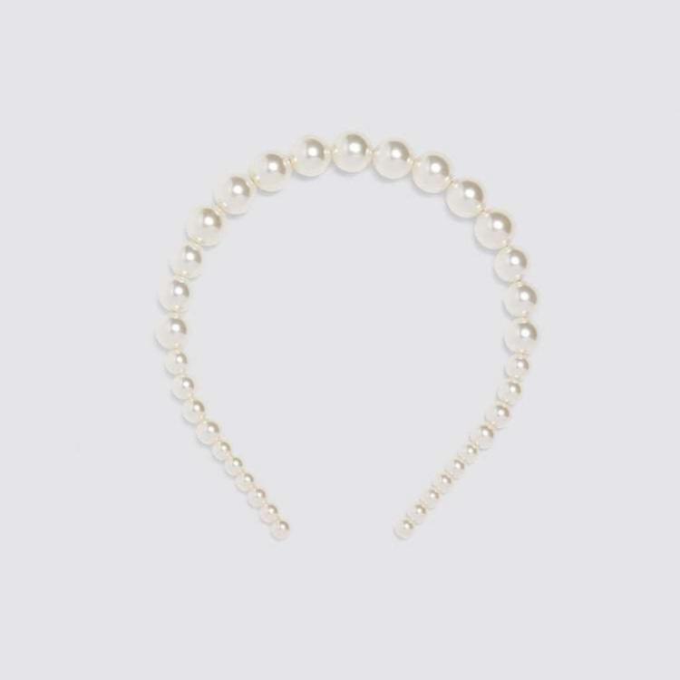 Diadema de perlas (3,99 euros)