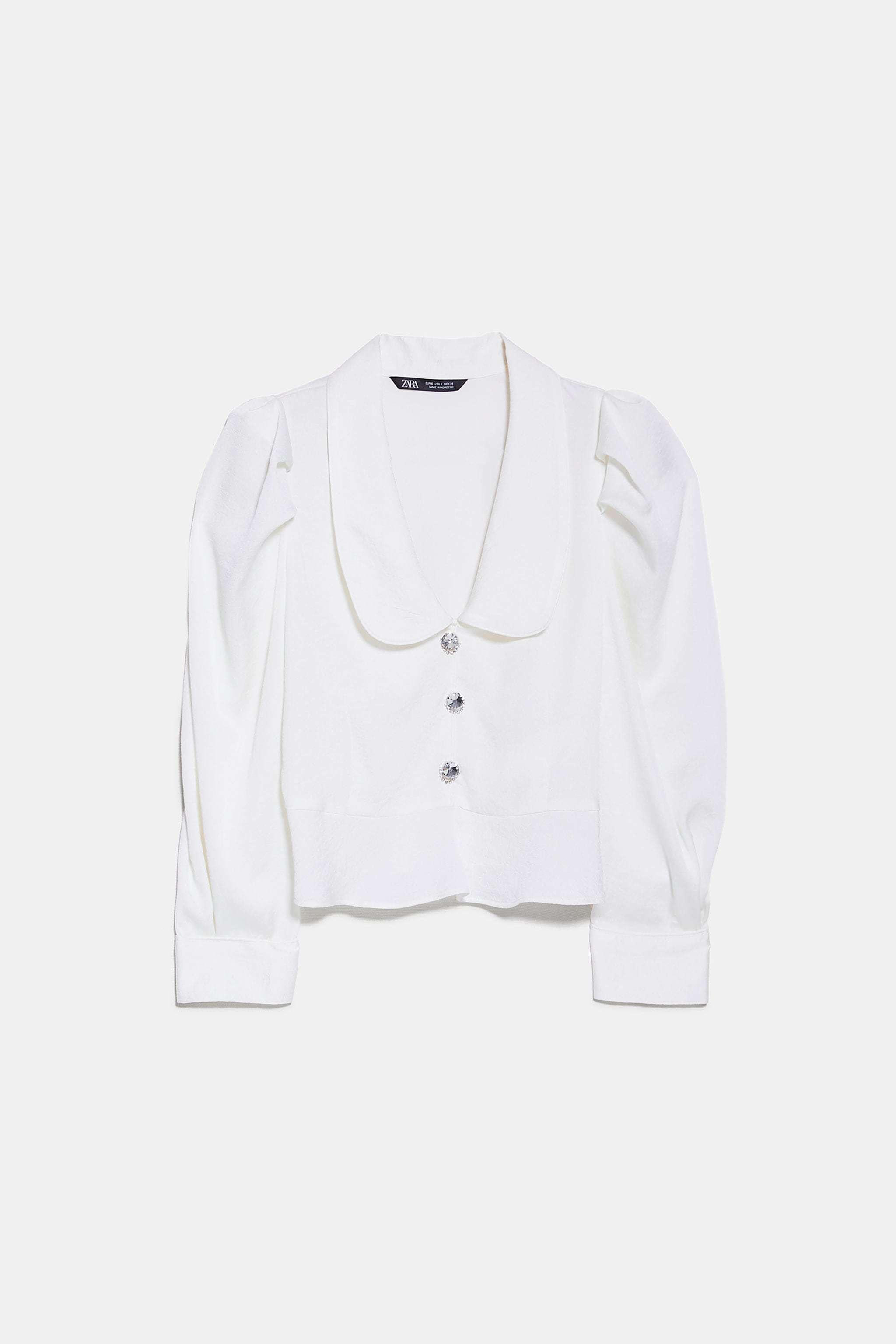 Blusa de Zara (25,95 euros).