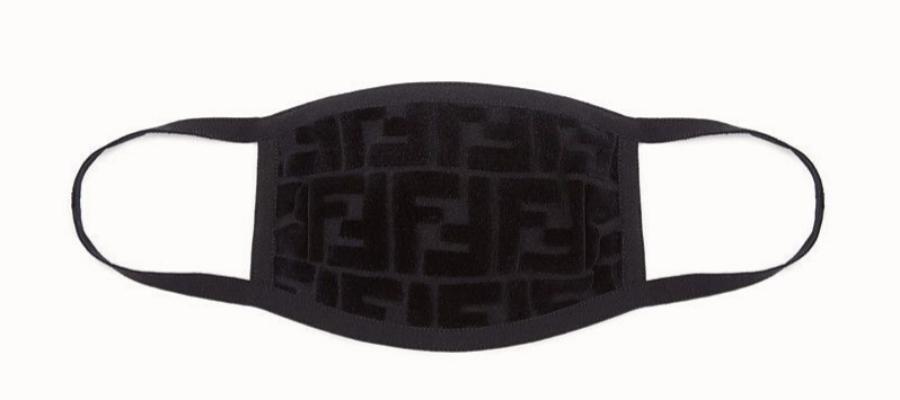 Mascarilla con el monogram de Fendi