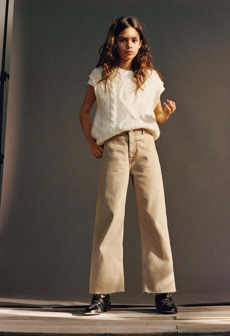 Ava Salazar, modelo de la nueva línea de Zara Kids