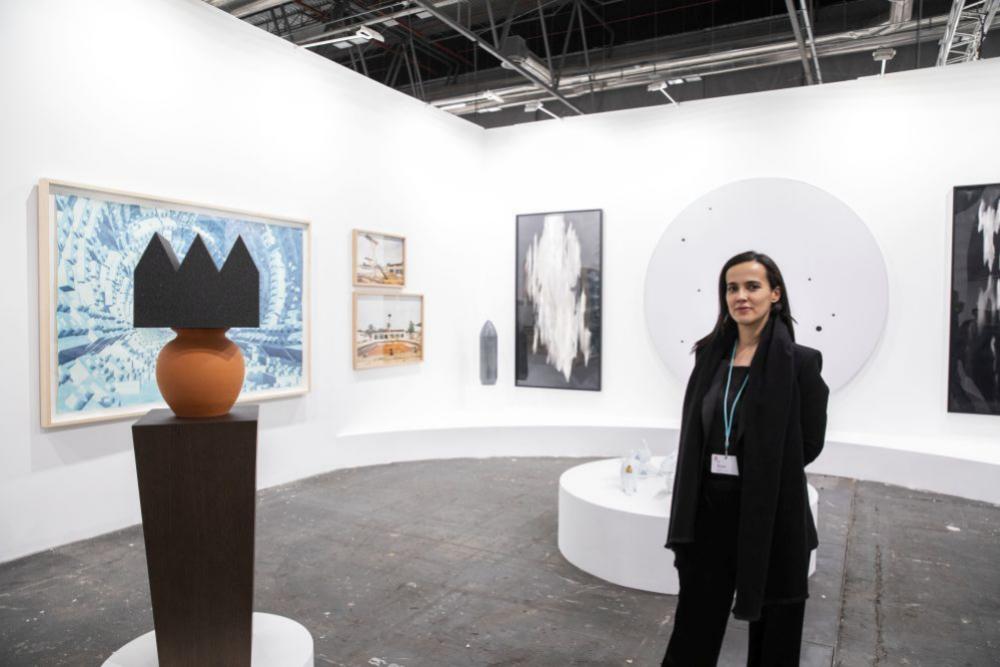 La galerista Sabrina Amrani, una de las triunfadoras de la feria