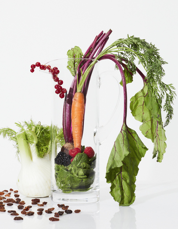 Para tener una microbiota sana toma fruta y verdura cada día.