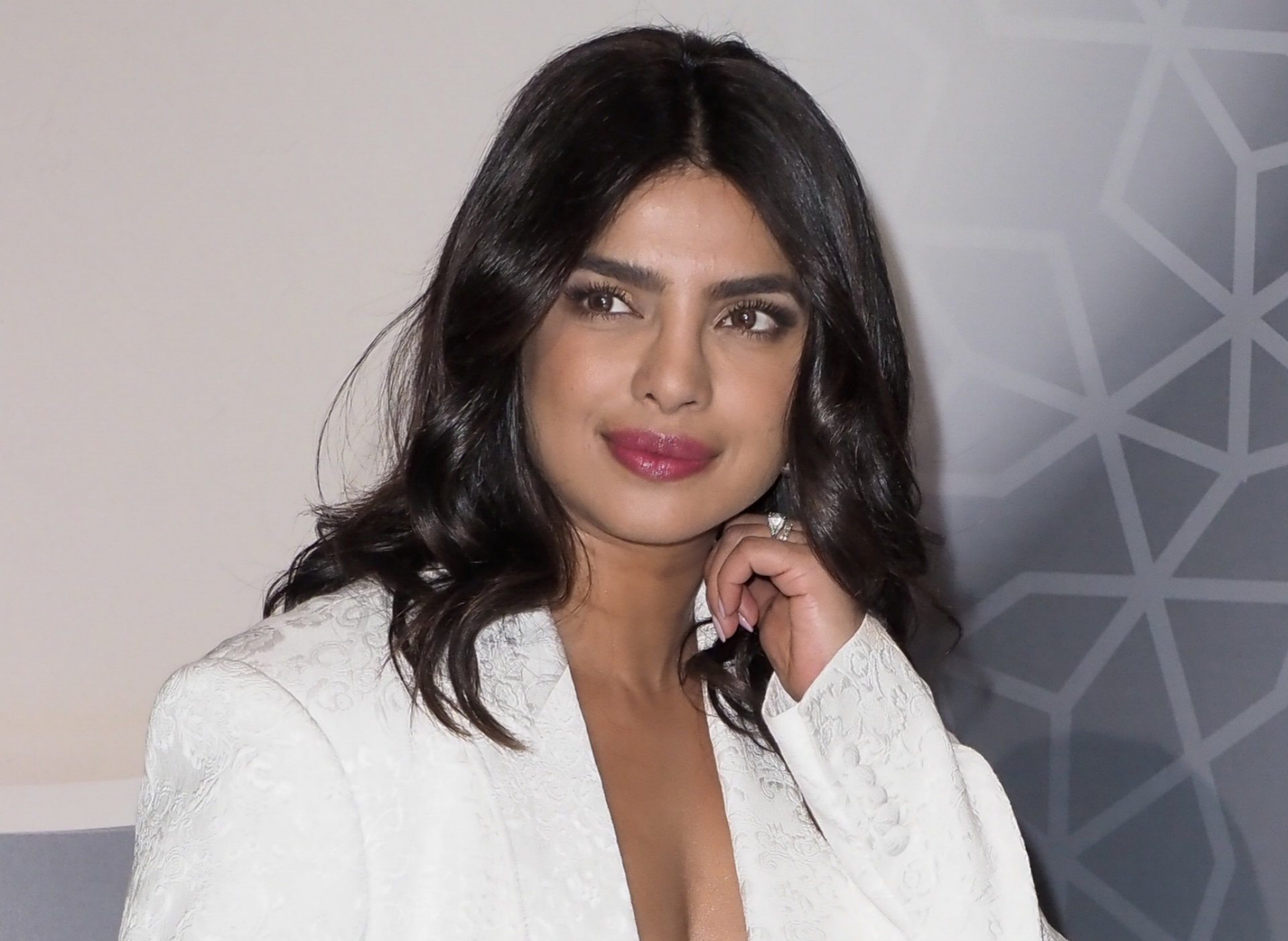 La actriz Priyanka Chopra.