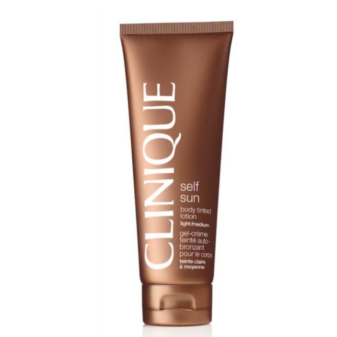 Self Sun Autobronceador Corporal, de Clinique (30,50 euros). En crema, aporta un color luminoso y natural desde el instante que lo aplicas.