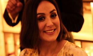 Tamara Falcó en la cena privada de Sisley y la galería Perrotin.