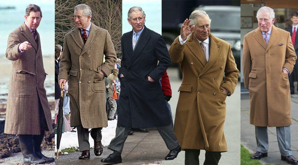 Estos son los abrigos que usa el príncipe Carlos de Inglaterra...