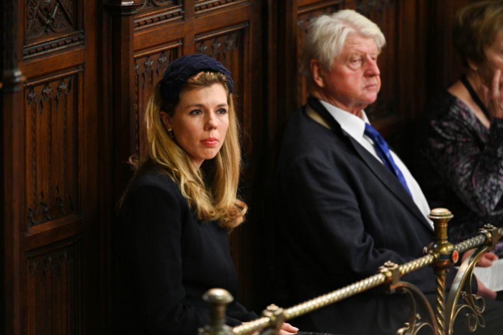 Symonds en la apertura del parlamento británico (octubre 2019).