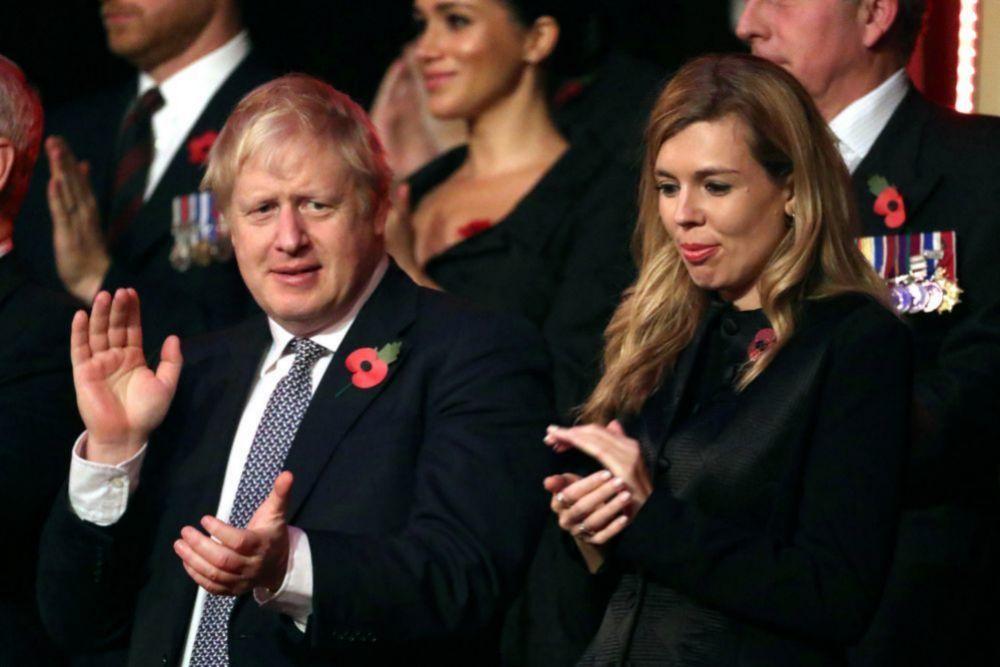La pareja en el Royal Albert Hall de Londres (noviembre 2019).