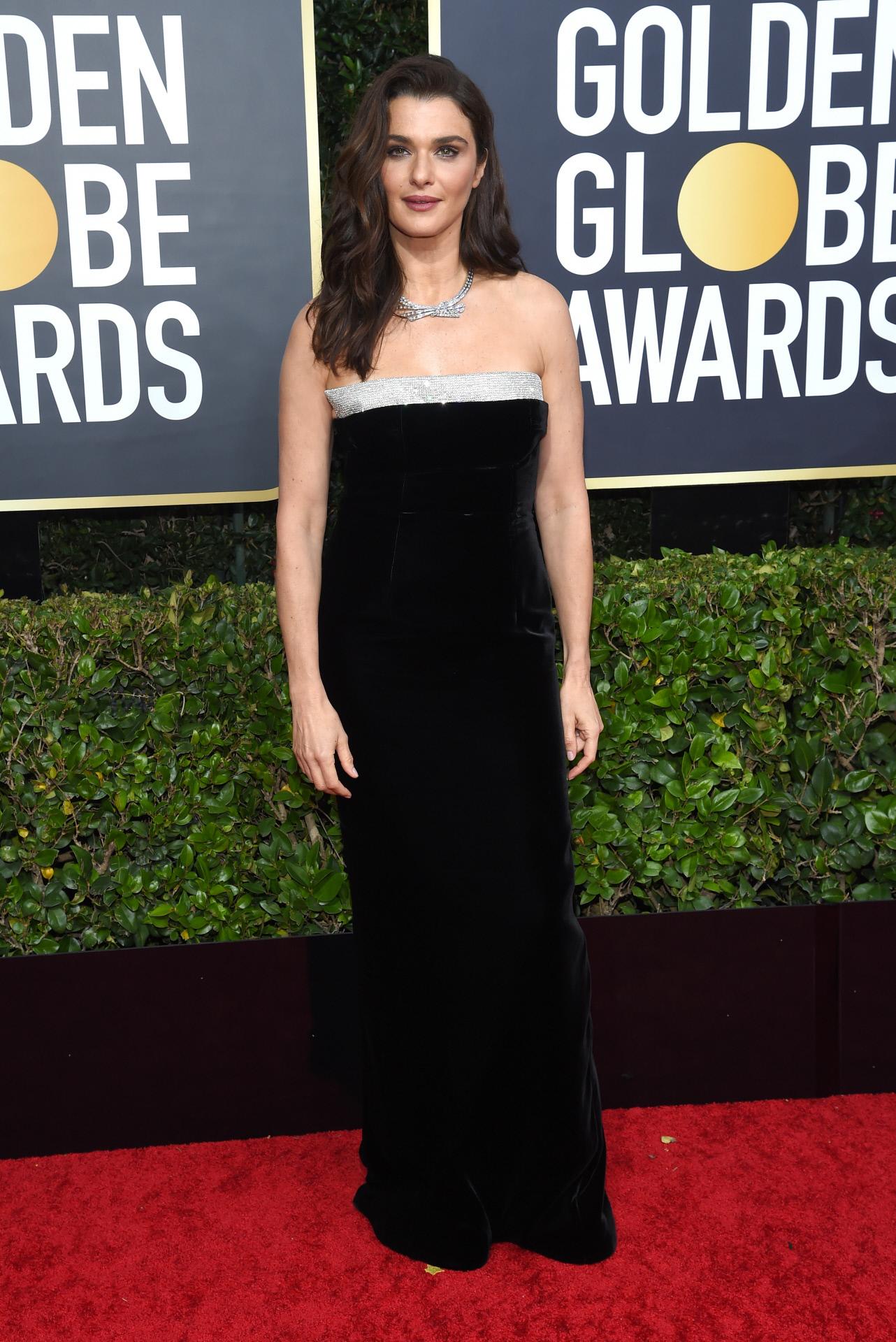 En los Globos de Oro 2020, en Los Ángeles, vestida por Tom Ford.