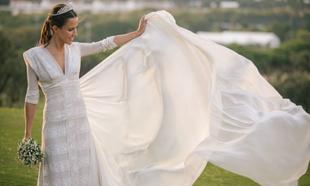 María Vega Penichet con vestido de Laura Ponte en colaboración con...
