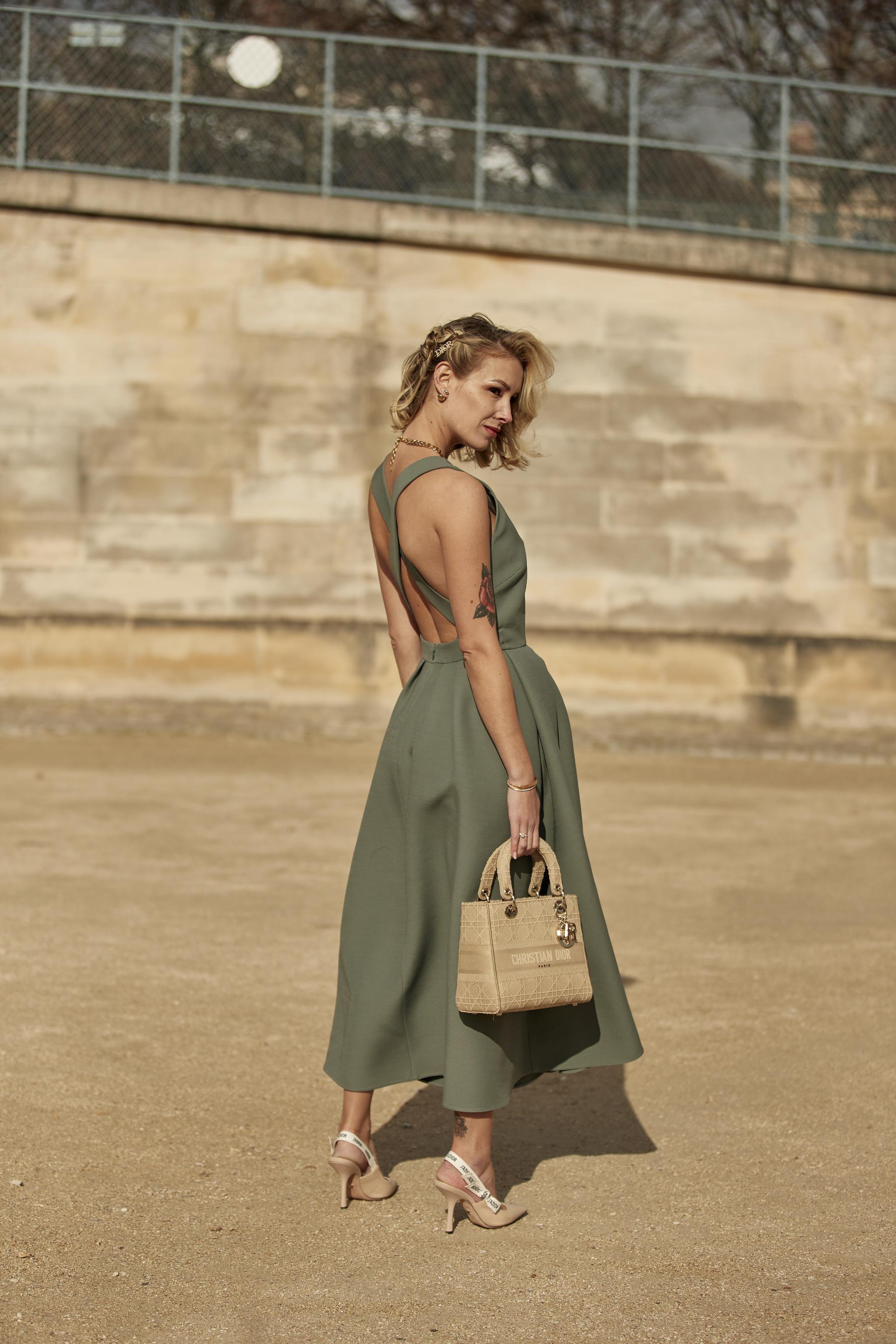 El modelo Lady D-Lite en beige