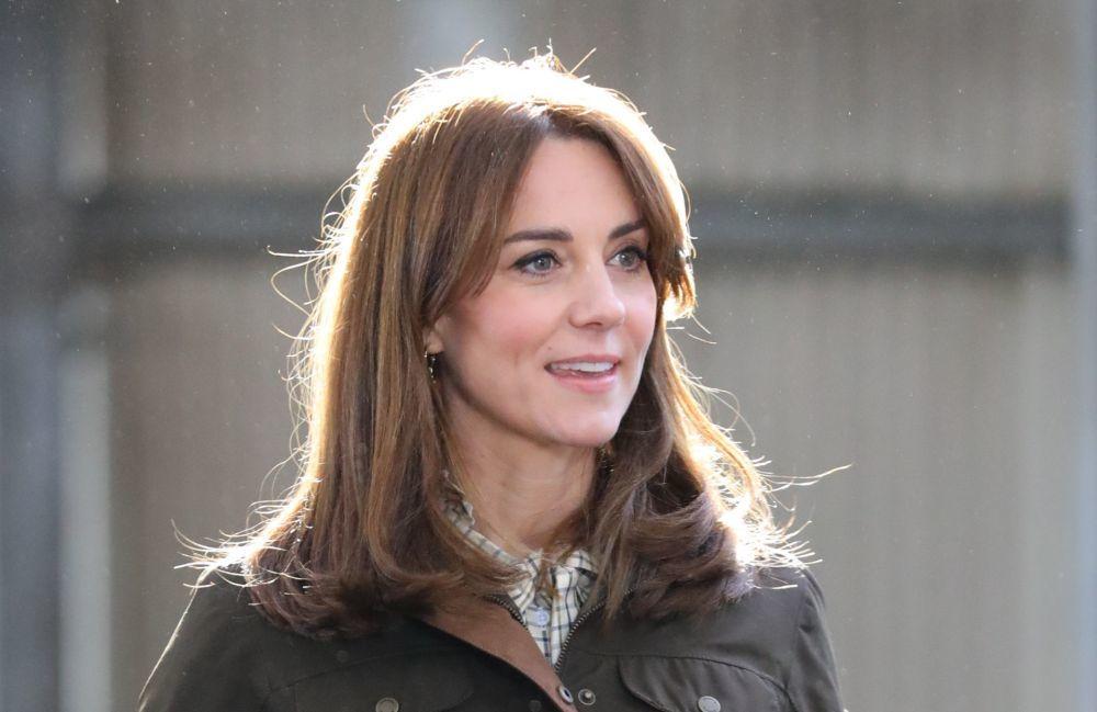 Kate Middleton en Irlanda con su nuevo corte de pelo.