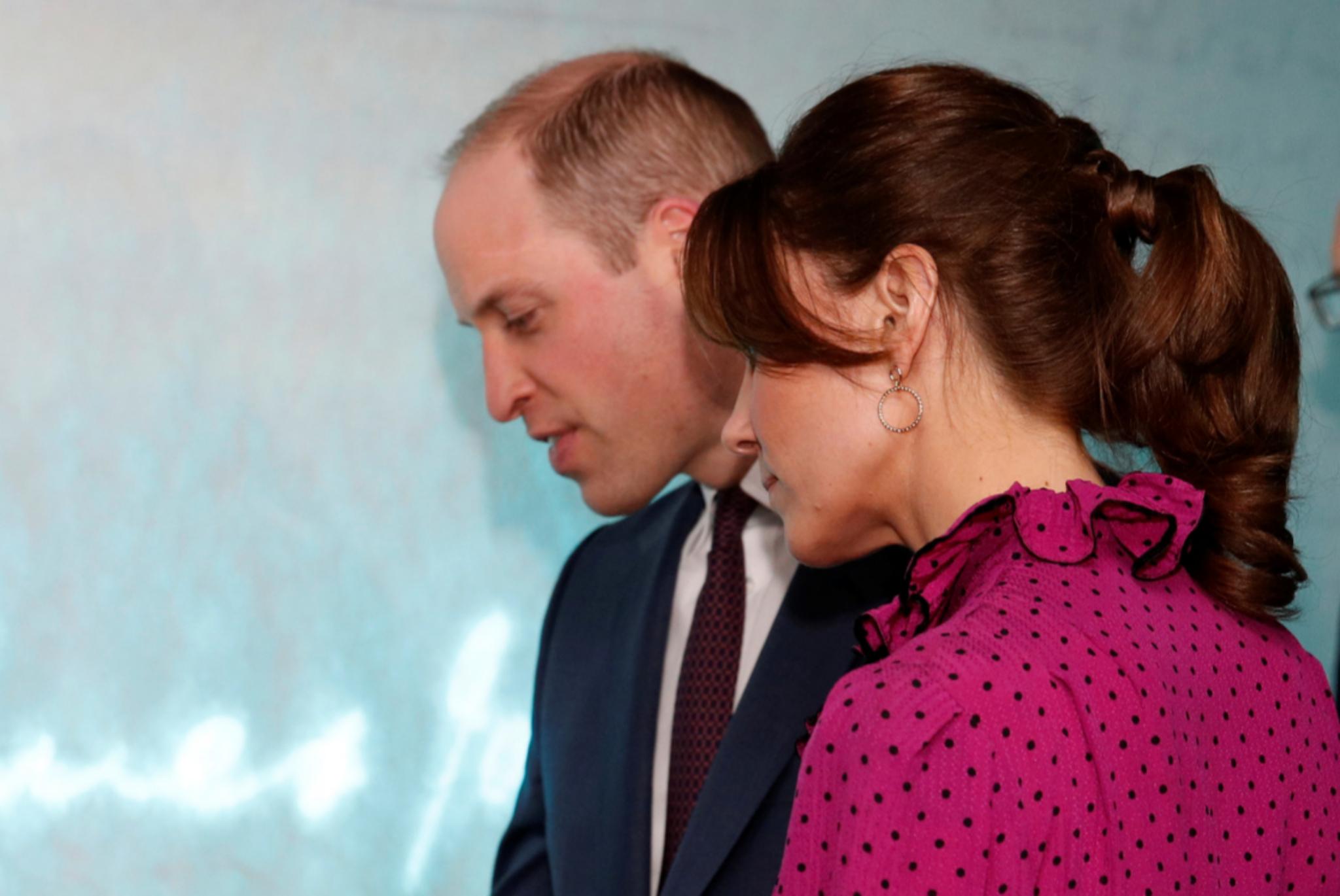 Detalle del recogido que luce Kate Middleton