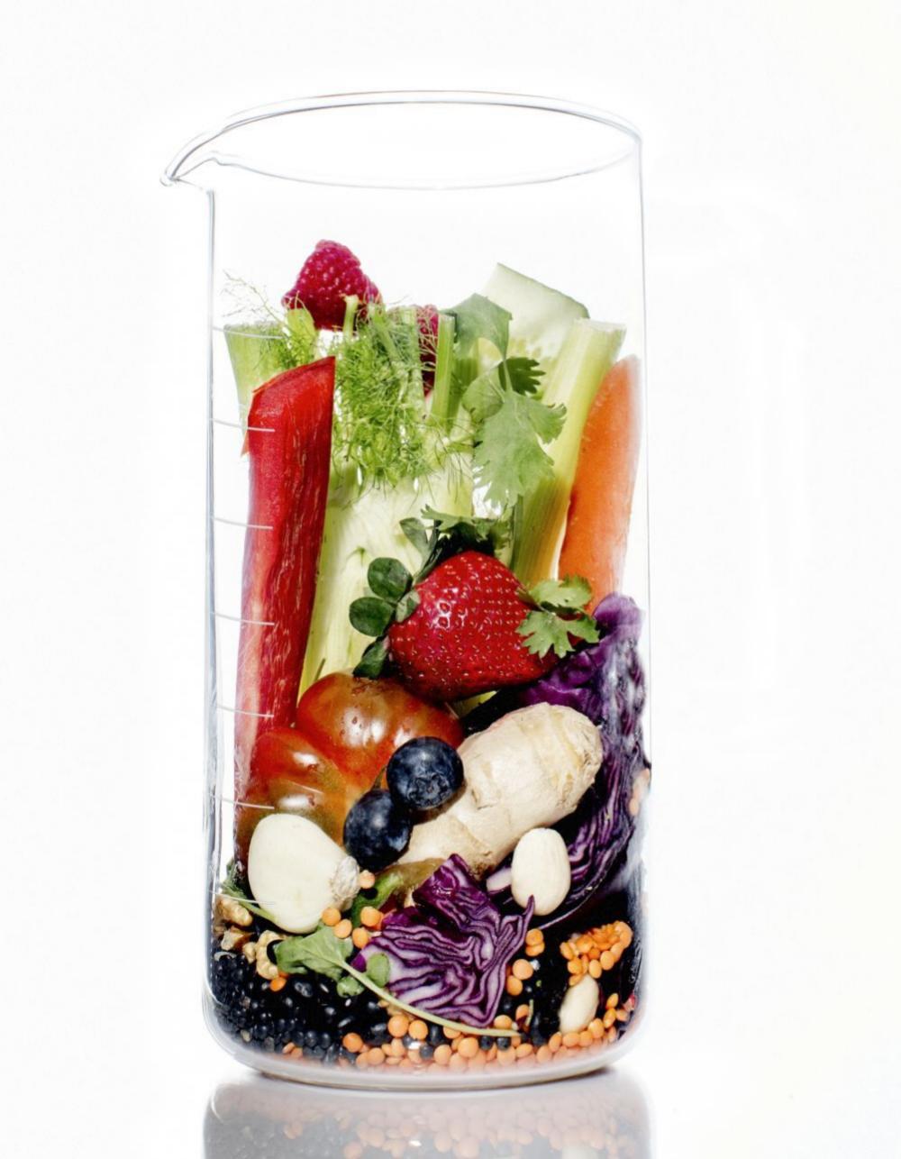 Los vegetales con color son ricos en antioxidantes que combaten el envejecimiento.
