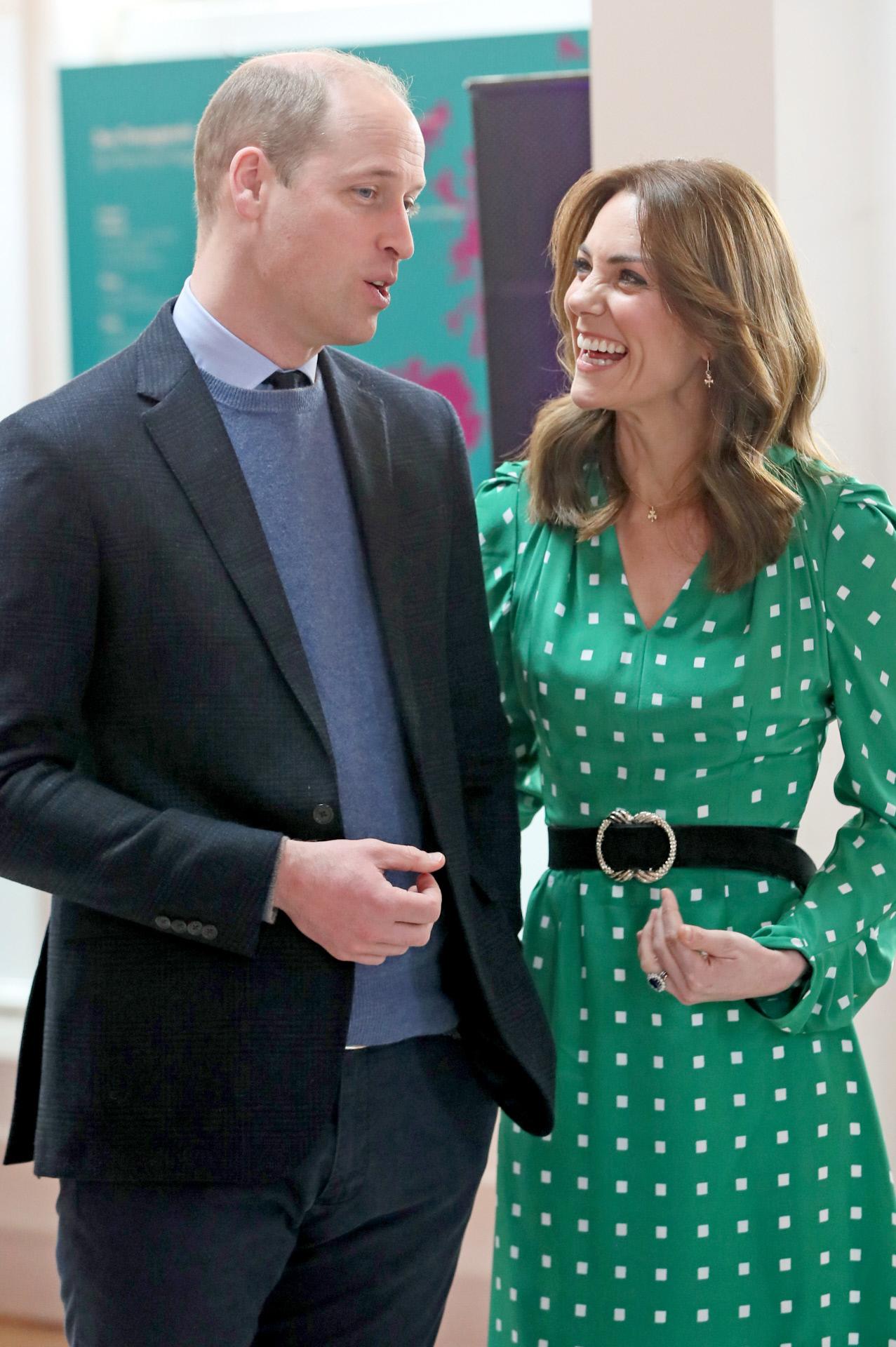 Kate Middleton y el príncipe Guillermo en el restaurante Tribeton