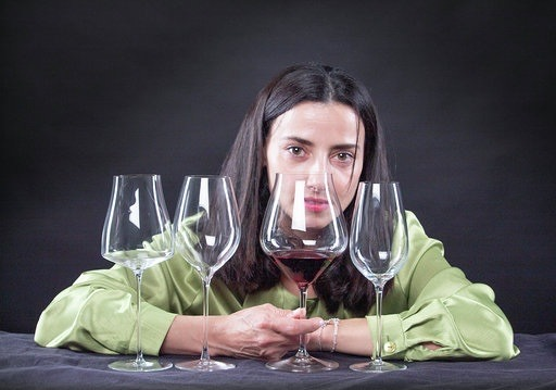 María José Huertas, sumiller de la Terraza del Casino