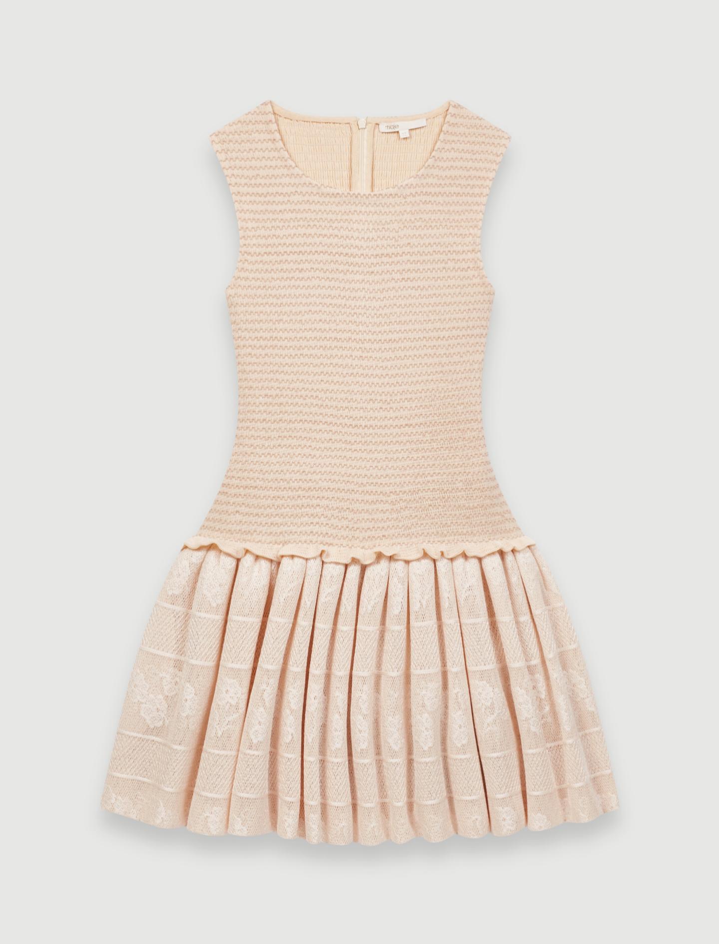 Mini vestido de punto de Maje (250¤)