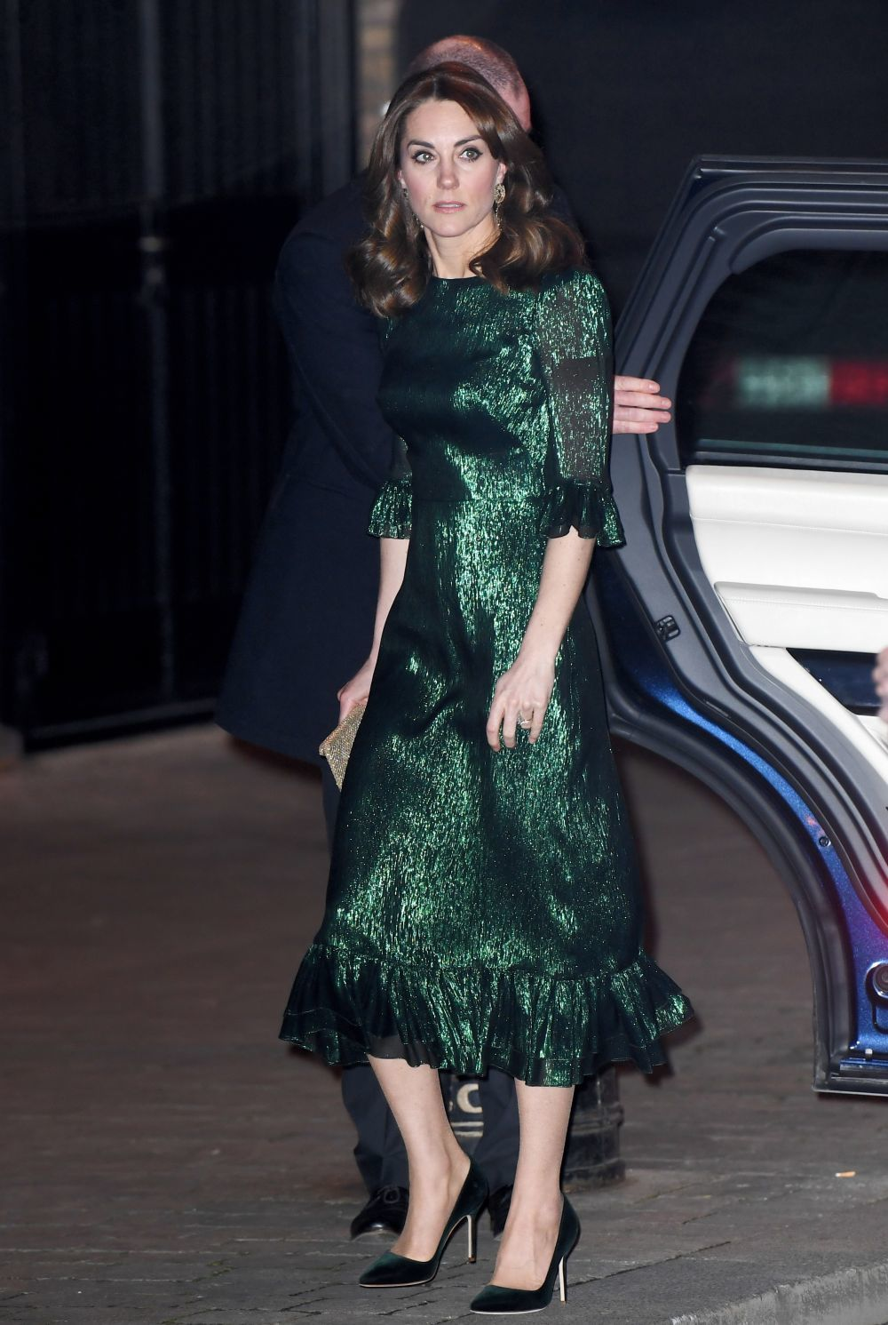 Kate Middleton con vestido de fiesta de The Vampire's Wife.