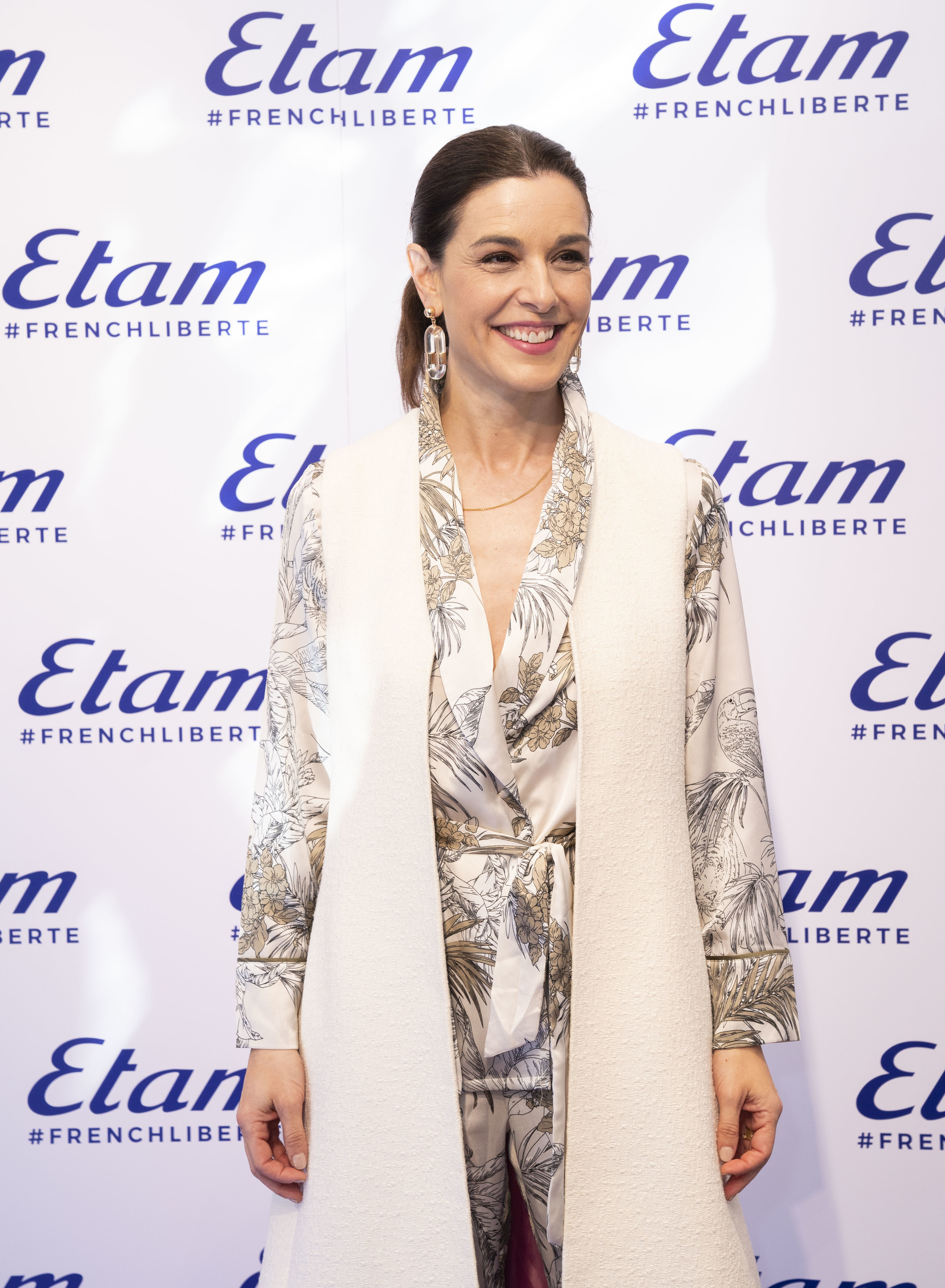Raquel Silva durante el evento de Etam en Madrid por el 8M
