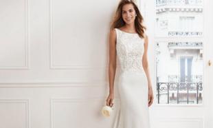 Vestidos de novia modelo Vany de la colección Luna Novias 2019 de...