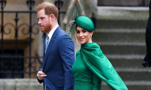 Los duques de Sussex en el  Día de la Commonwealth