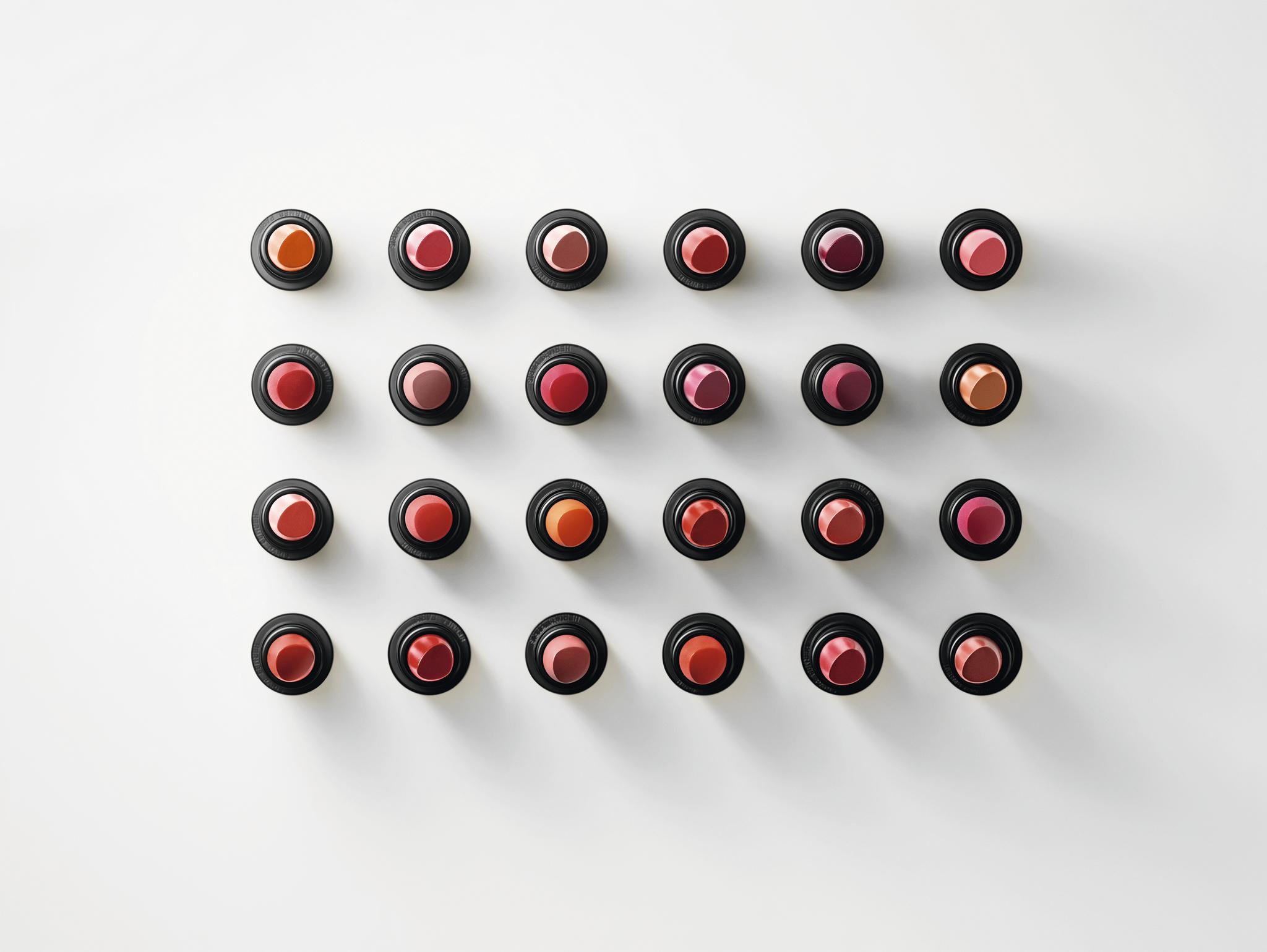 Los colores de la colección de pintalabios de Hermès