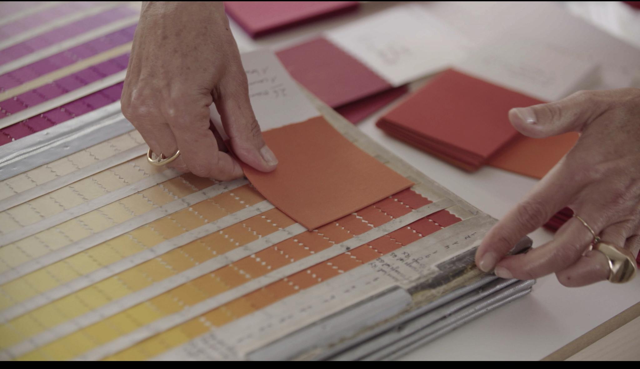 Colores y texturas de Hermès en los que se basa su colección de cosméticos