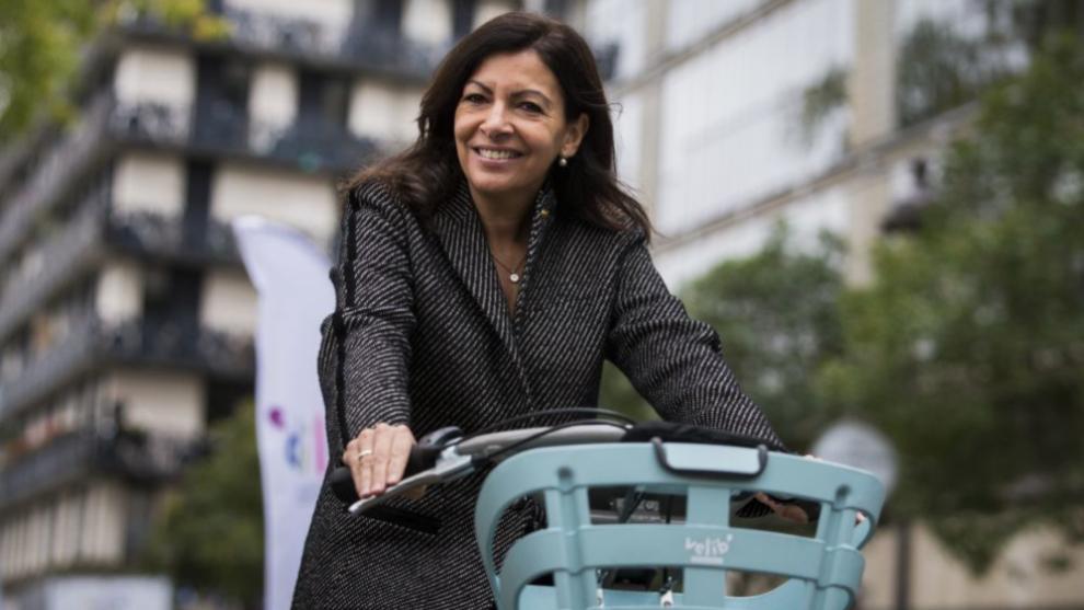 Anne Hidalgo, actual alcaldesa de París.