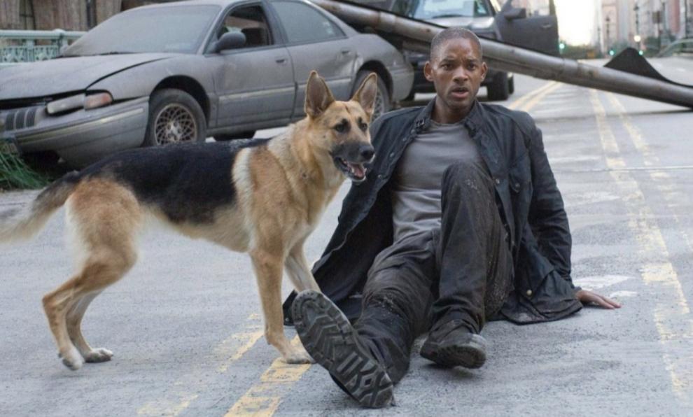 """""""Soy leyenda"""", de Will Smith, es una de las películas más vistas en..."""