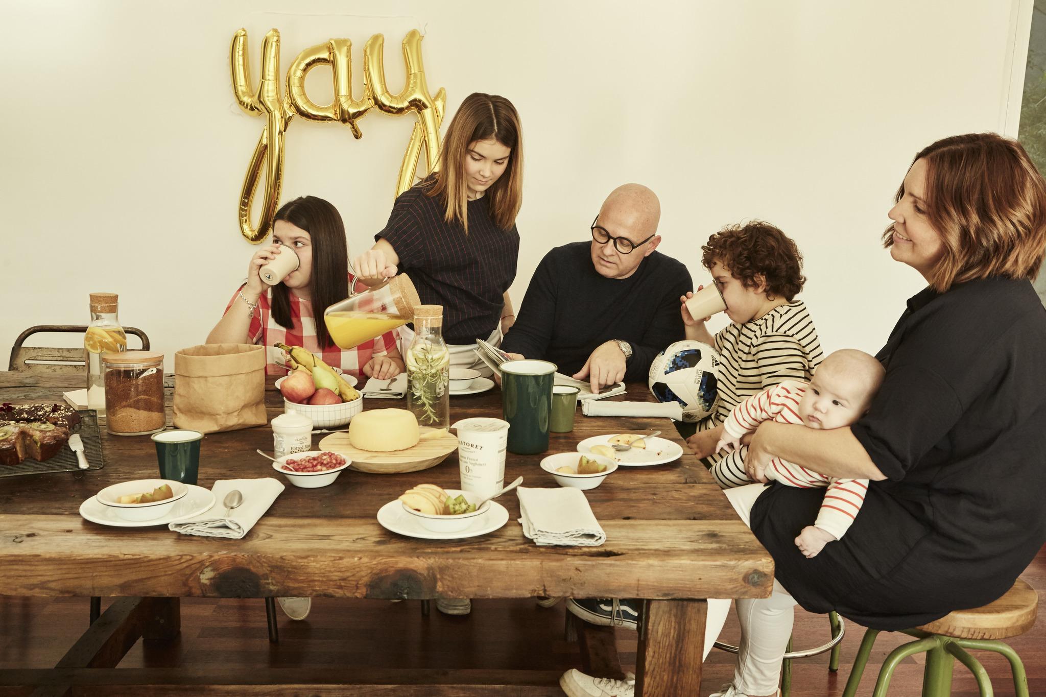 Cenar en familia es la gran oportunidad para conversar