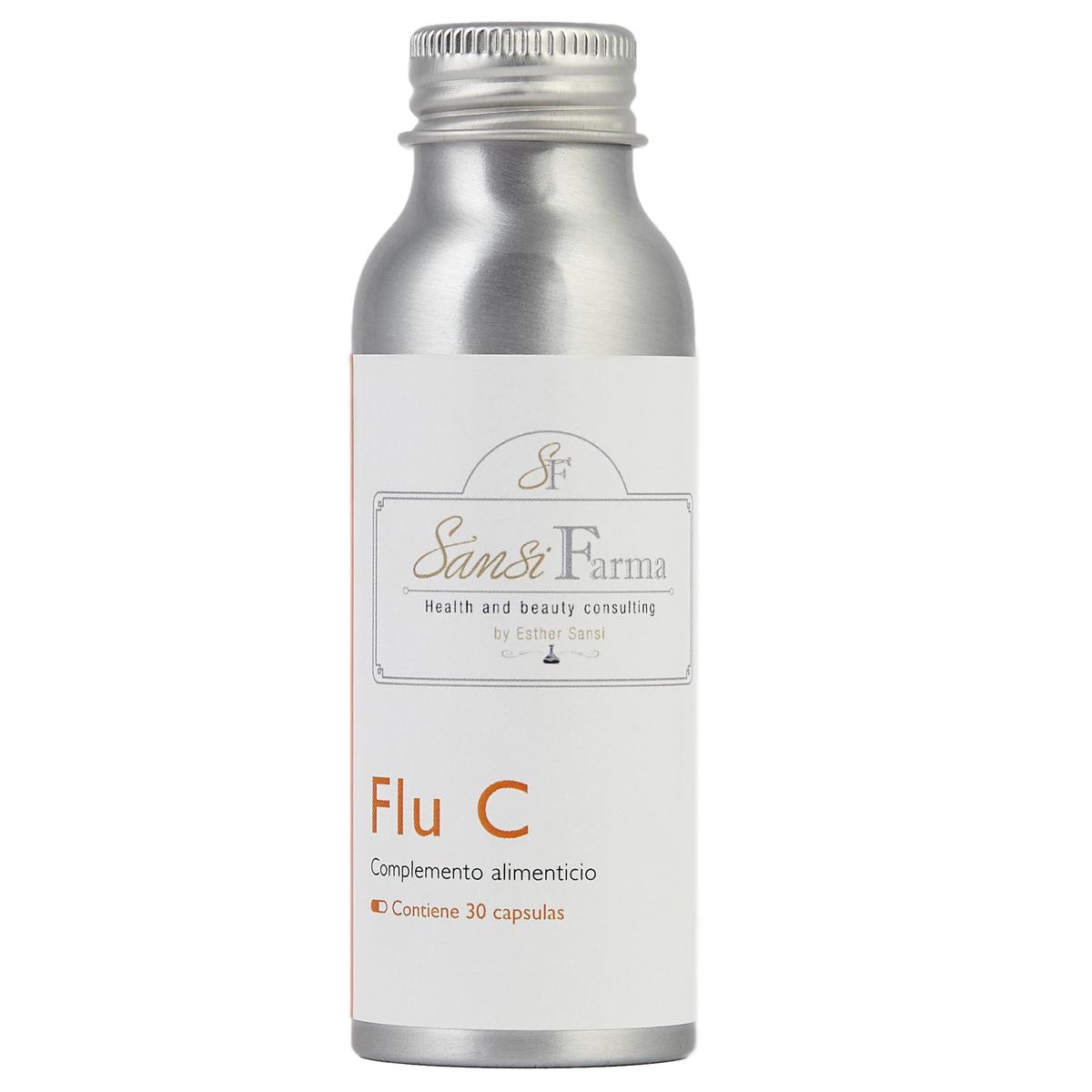 Nutricéutico Flu C de Esther Sansi (19,50 euros) para prevenir y aliviar procesos gripales víricos y catarrales con acetilcisteína, zinc, sauce y propóleo.