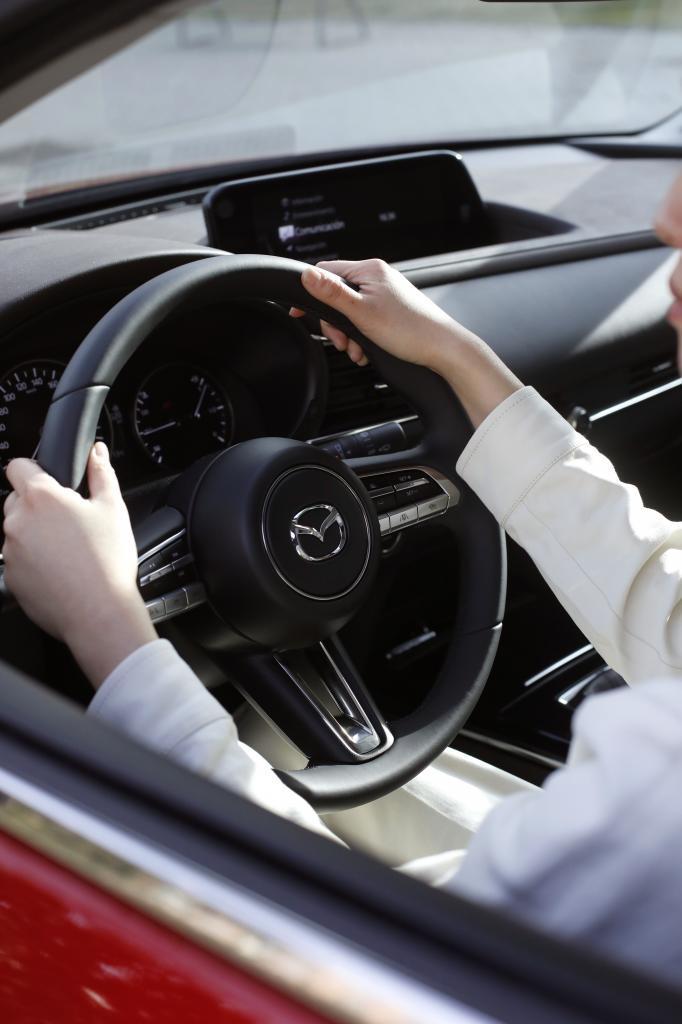 Interior del Mazda CX30