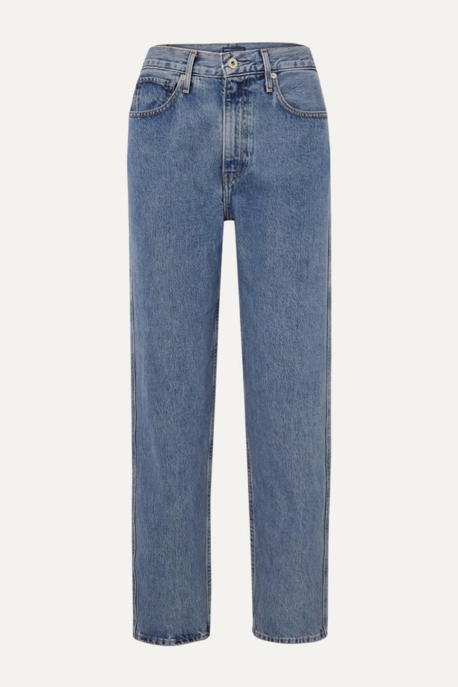 Mom jeans de efecto lavado de Levi's para Net a porter (140¤)