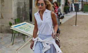 Un polo de Lacoste que hemos visto en la fashion week de París.