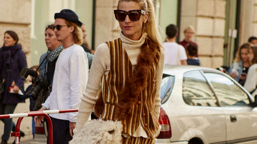 En la fashion week (y en muchas firmas) hemos visto muchos chalecos.