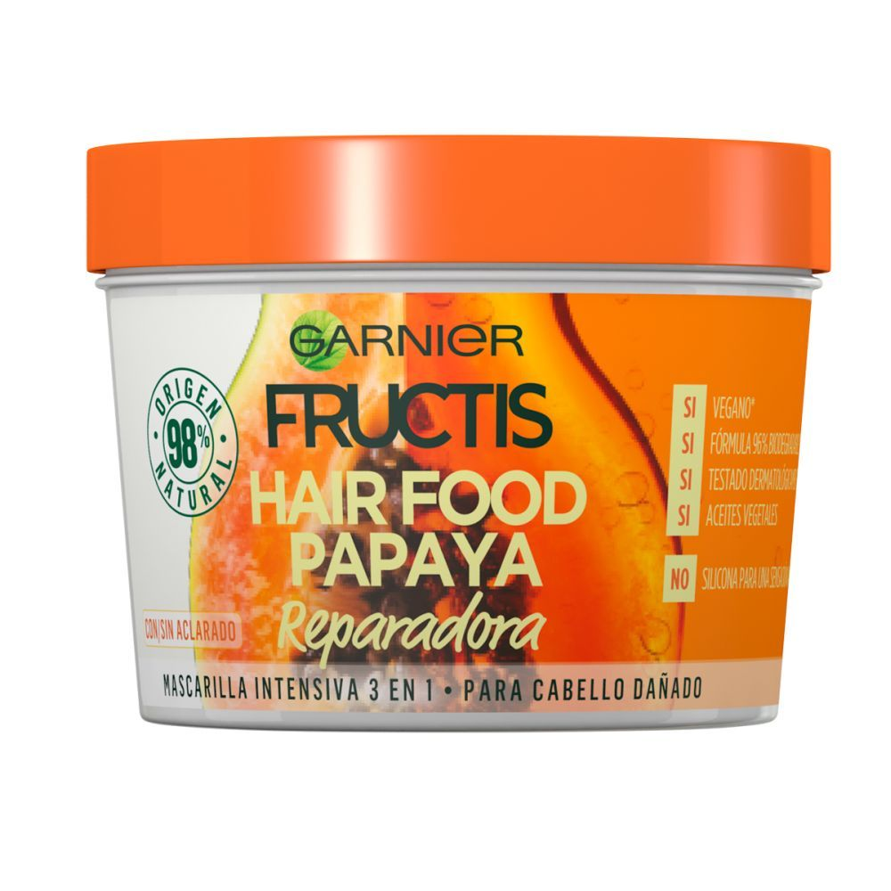 Mascarilla Hair Food de Fructis de Garnier.